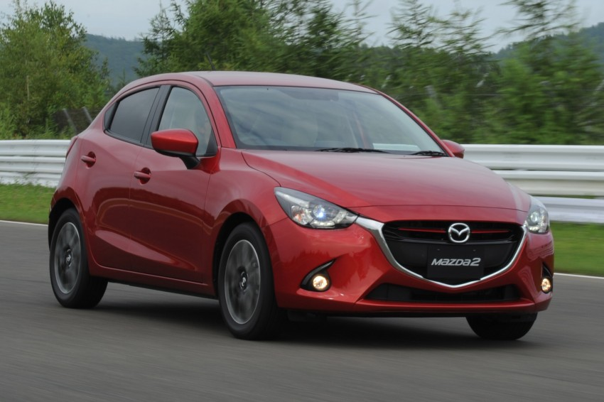 DRIVEN: 2015 Mazda 2 1.5 SkyActiv-G previewed in Japan – a supermini with sports car ambitions Image #265682