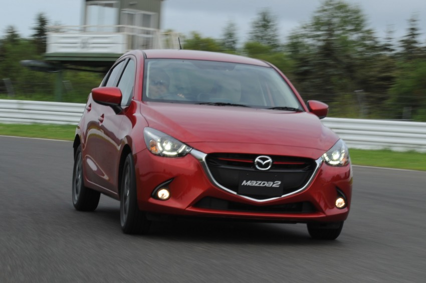 DRIVEN: 2015 Mazda 2 1.5 SkyActiv-G previewed in Japan – a supermini with sports car ambitions Image #265683