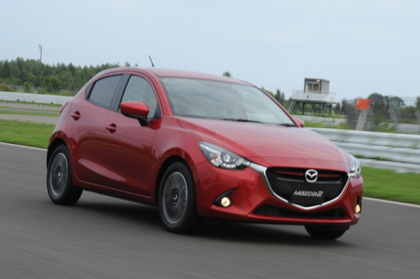 DRIVEN: 2015 Mazda 2 1.5 SkyActiv-G previewed in Japan – a supermini with sports car ambitions Image #265684