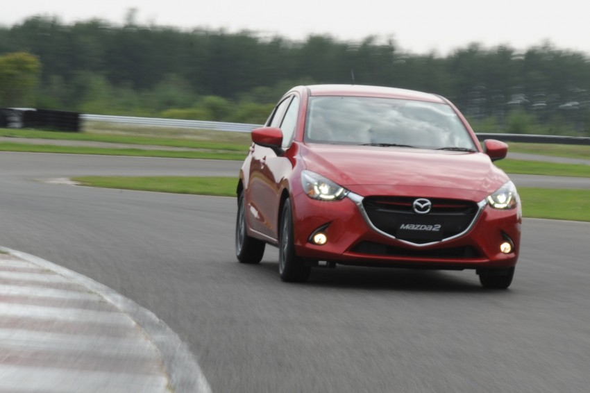 DRIVEN: 2015 Mazda 2 1.5 SkyActiv-G previewed in Japan – a supermini with sports car ambitions Image #265685