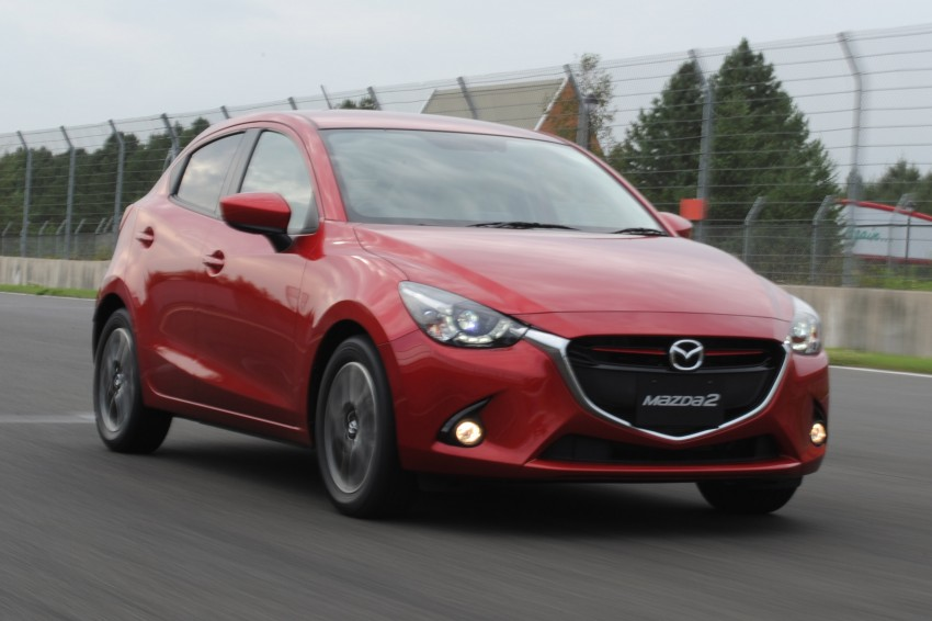 DRIVEN: 2015 Mazda 2 1.5 SkyActiv-G previewed in Japan – a supermini with sports car ambitions Image #265686