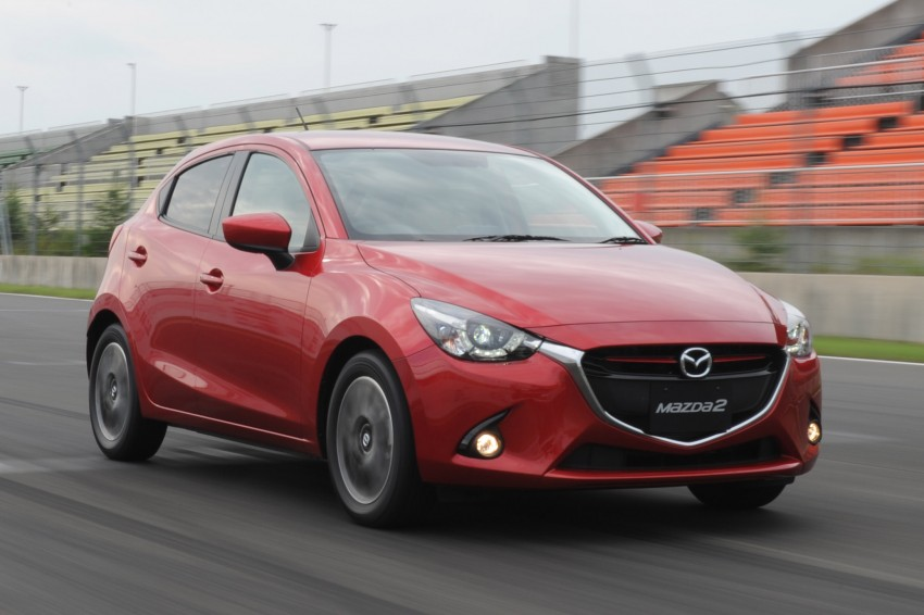 DRIVEN: 2015 Mazda 2 1.5 SkyActiv-G previewed in Japan – a supermini with sports car ambitions Image #265687