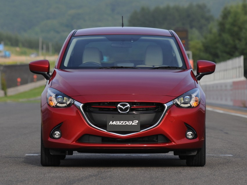 DRIVEN: 2015 Mazda 2 1.5 SkyActiv-G previewed in Japan – a supermini with sports car ambitions Image #265688