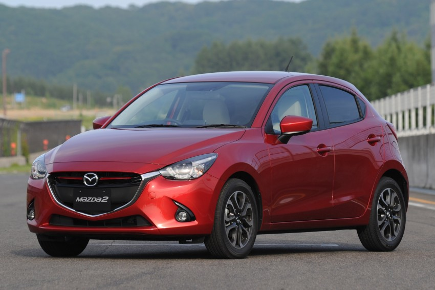 DRIVEN: 2015 Mazda 2 1.5 SkyActiv-G previewed in Japan – a supermini with sports car ambitions Image #265689