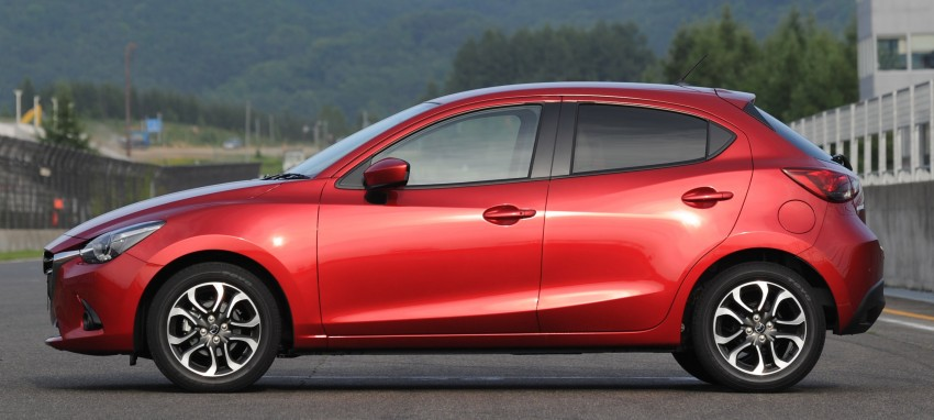 DRIVEN: 2015 Mazda 2 1.5 SkyActiv-G previewed in Japan – a supermini with sports car ambitions Image #265690