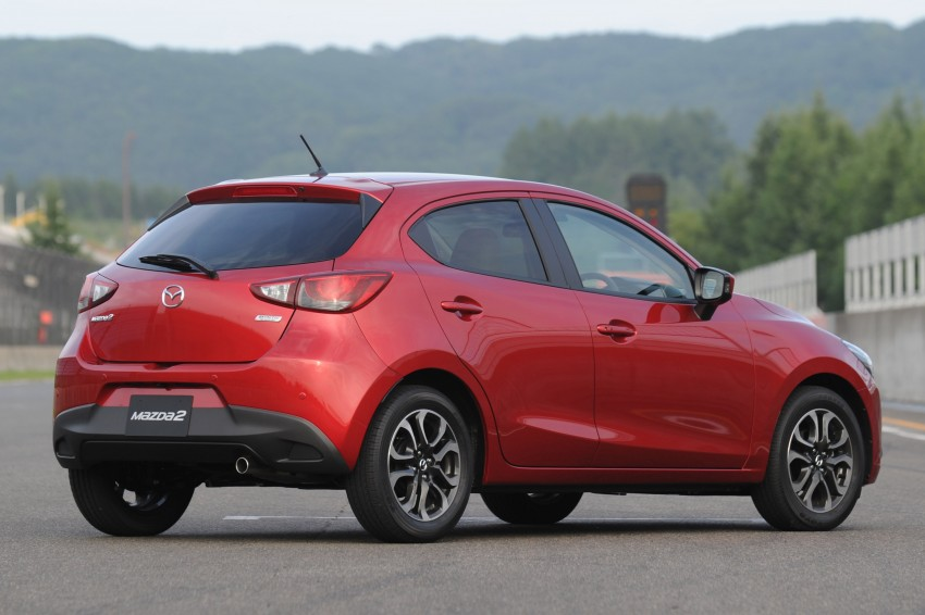 DRIVEN: 2015 Mazda 2 1.5 SkyActiv-G previewed in Japan – a supermini with sports car ambitions Image #265693