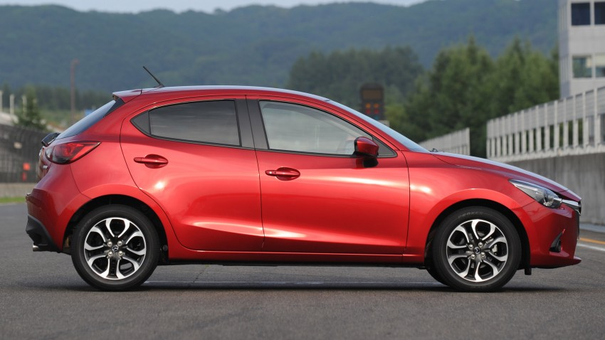 DRIVEN: 2015 Mazda 2 1.5 SkyActiv-G previewed in Japan – a supermini with sports car ambitions Image #265694