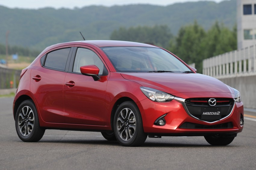 DRIVEN: 2015 Mazda 2 1.5 SkyActiv-G previewed in Japan – a supermini with sports car ambitions Image #265695
