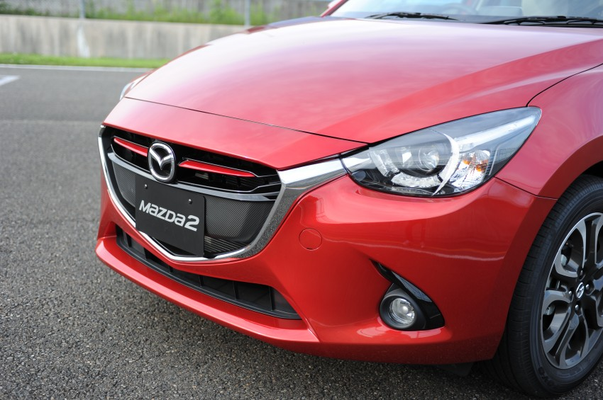 DRIVEN: 2015 Mazda 2 1.5 SkyActiv-G previewed in Japan – a supermini with sports car ambitions Image #265699