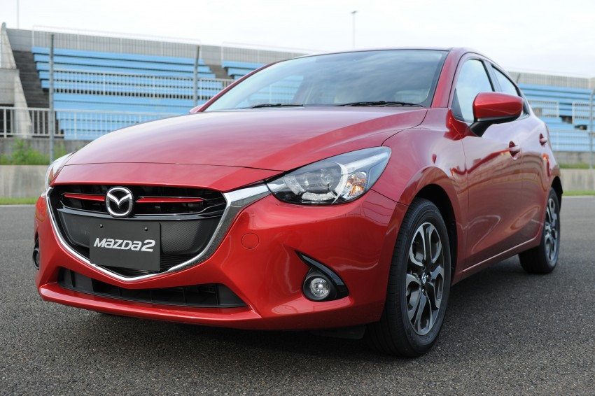 DRIVEN: 2015 Mazda 2 1.5 SkyActiv-G previewed in Japan – a supermini with sports car ambitions Image #265700