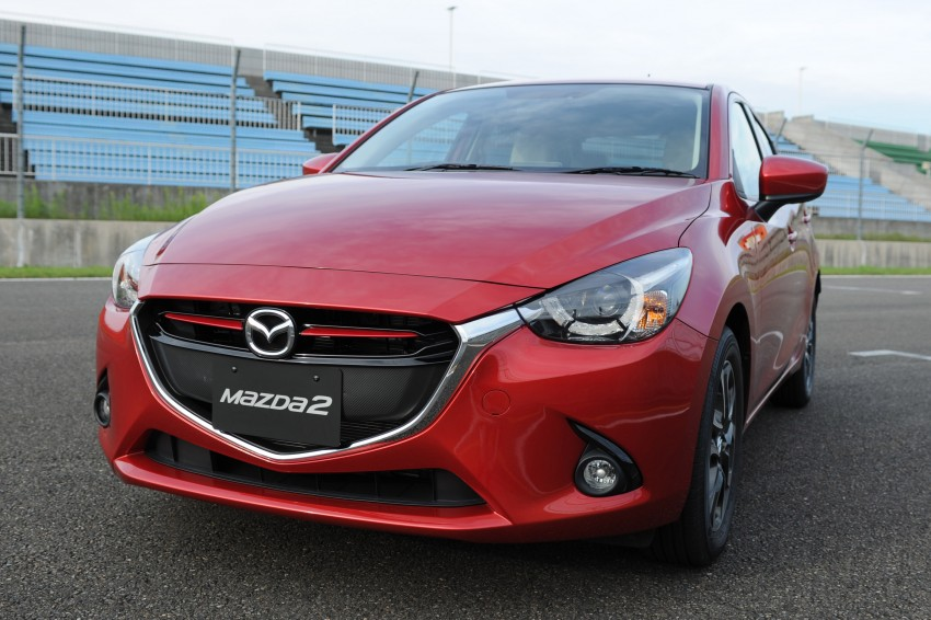 DRIVEN: 2015 Mazda 2 1.5 SkyActiv-G previewed in Japan – a supermini with sports car ambitions Image #265701