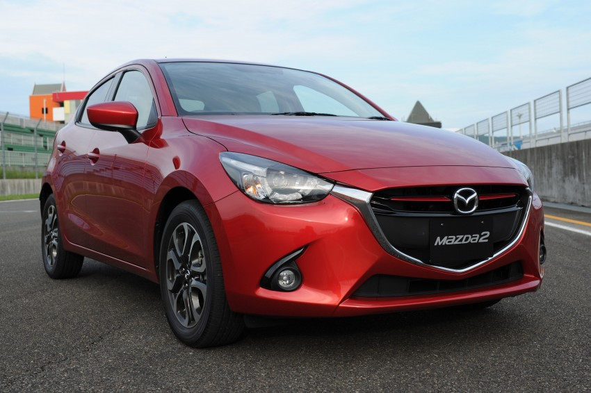 DRIVEN: 2015 Mazda 2 1.5 SkyActiv-G previewed in Japan – a supermini with sports car ambitions Image #265702