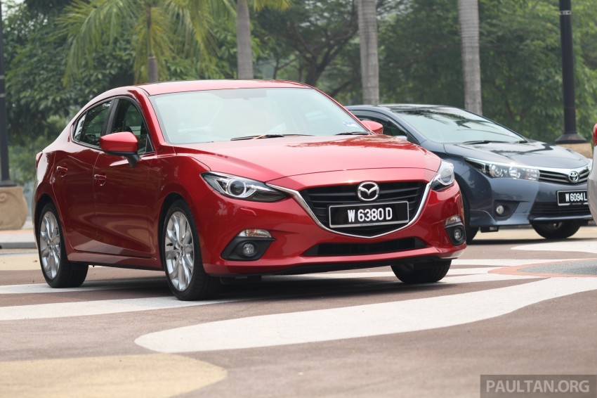 Driven Web Series 2014 #5: Top of the C-segment class – Mazda 3 vs Toyota Corolla Altis vs Kia Cerato Image #263241