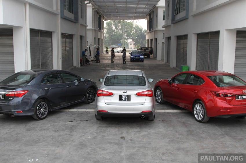 Driven Web Series 2014 #5: Top of the C-segment class – Mazda 3 vs Toyota Corolla Altis vs Kia Cerato Image #263252
