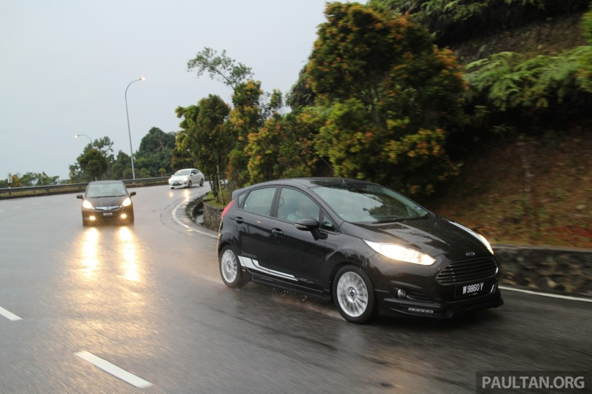 Driven Web Series 2014 #6: Genting RM10 challenge – Fiesta EcoBoost vs Jazz Hybrid vs Mitsubishi Attrage Image #264312