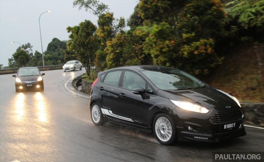 Driven Web Series 2014 #6: Genting RM10 challenge – Fiesta EcoBoost vs Jazz Hybrid vs Mitsubishi Attrage Image #264315