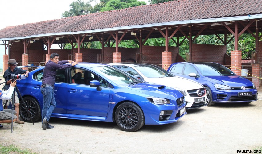 Driven Web Series 2014 #4: Horsepower assault – Mercedes A 45 AMG vs VW Golf R vs Subaru WRX STI Image #262014