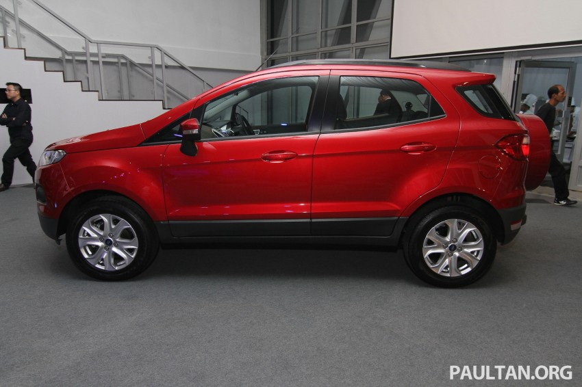 Ford EcoSport launched in Malaysia – RM93k-RM104k Image #266456