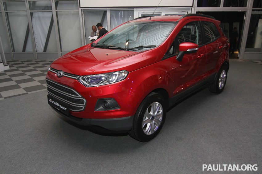 Ford EcoSport launched in Malaysia – RM93k-RM104k Image #266455