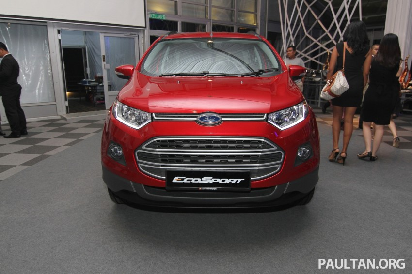 Ford EcoSport launched in Malaysia – RM93k-RM104k Image #266454