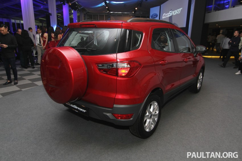 Ford EcoSport launched in Malaysia – RM93k-RM104k Image #266453