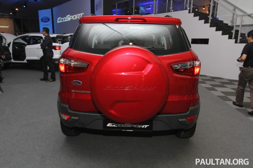 Ford EcoSport launched in Malaysia – RM93k-RM104k Image #266452
