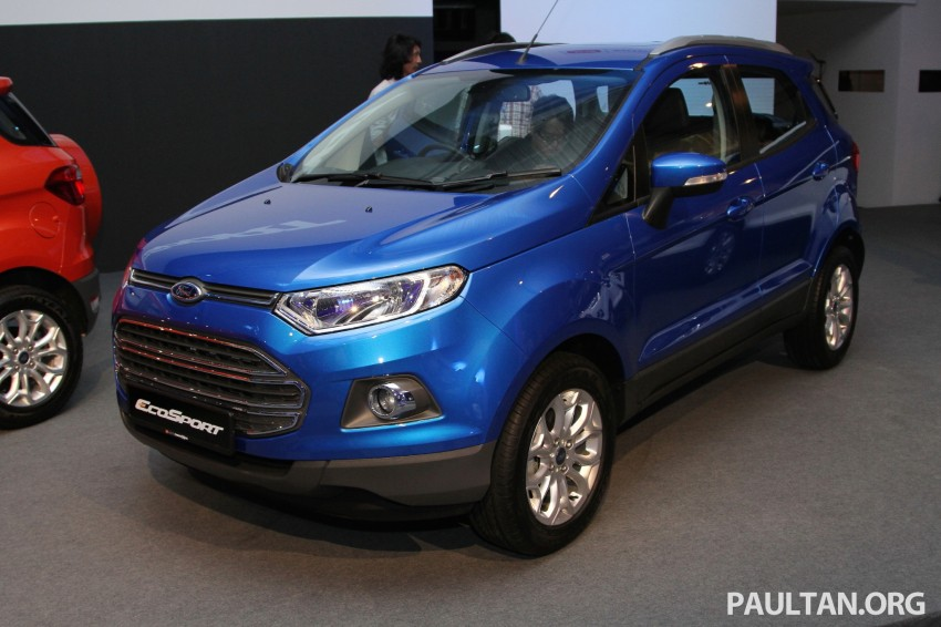 Ford EcoSport launched in Malaysia – RM93k-RM104k Image #266450