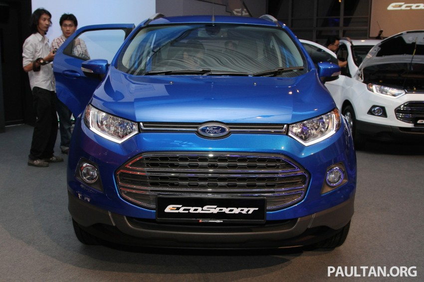 Ford EcoSport launched in Malaysia – RM93k-RM104k Image #266449
