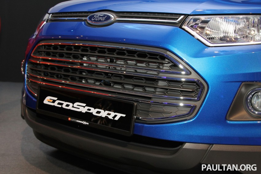 Ford EcoSport launched in Malaysia – RM93k-RM104k Image #266446