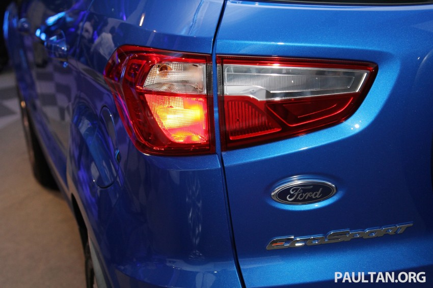 Ford EcoSport launched in Malaysia – RM93k-RM104k Image #266440