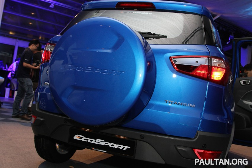 Ford EcoSport launched in Malaysia – RM93k-RM104k Image #266437