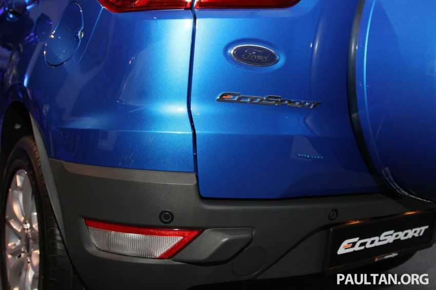 Ford EcoSport launched in Malaysia – RM93k-RM104k Image #266434