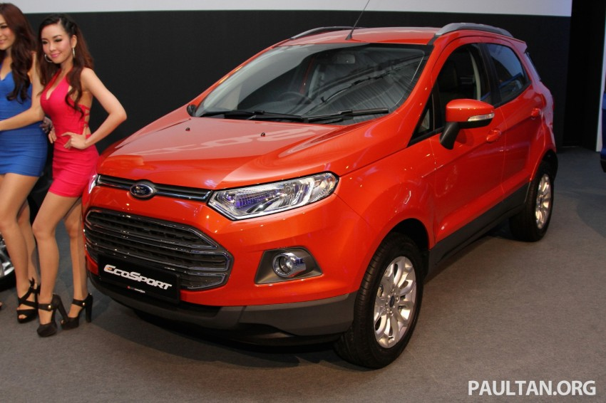 Ford EcoSport launched in Malaysia – RM93k-RM104k Image #266431