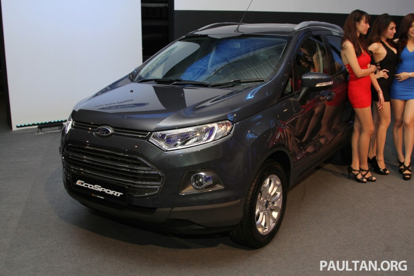 Ford EcoSport launched in Malaysia – RM93k-RM104k Image #266430