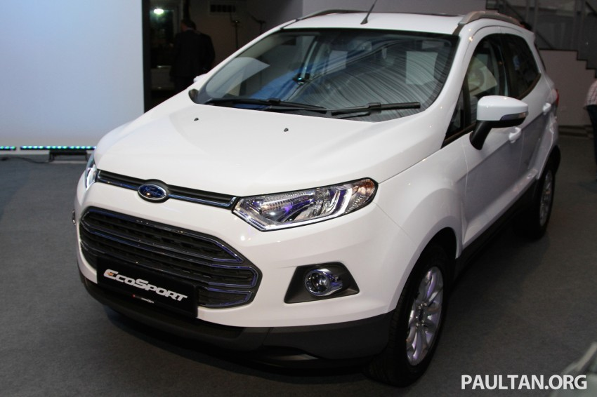 Ford EcoSport launched in Malaysia – RM93k-RM104k Image #266429