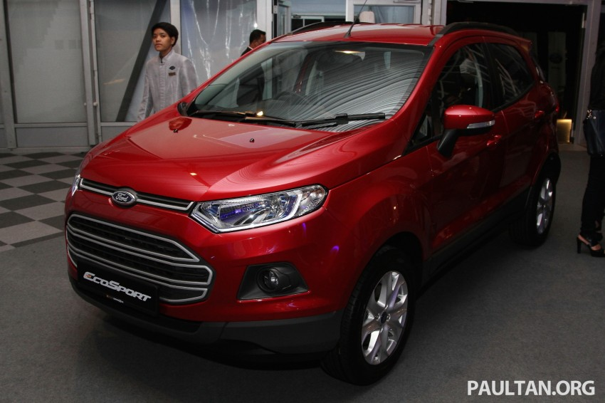 Ford EcoSport launched in Malaysia – RM93k-RM104k Image #266428