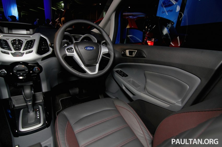 Ford EcoSport launched in Malaysia – RM93k-RM104k Image #266409