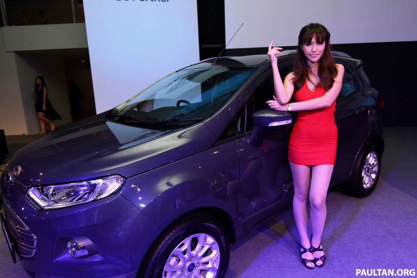 Ford EcoSport launched in Malaysia – RM93k-RM104k Image #266222