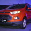 Ford Ecosport launch 1