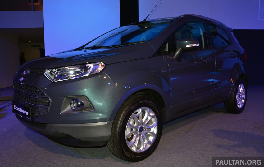 Ford EcoSport launched in Malaysia – RM93k-RM104k Image #266169