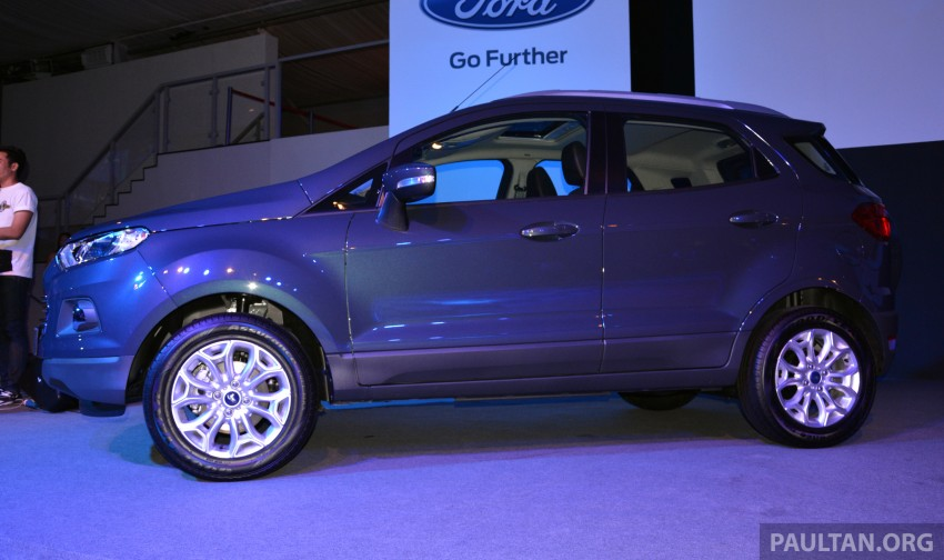 Ford EcoSport launched in Malaysia – RM93k-RM104k Image #266170