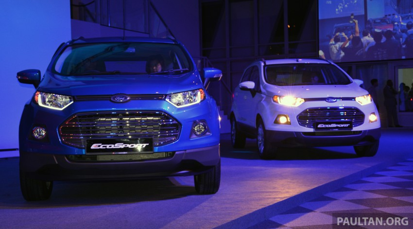 Ford EcoSport launched in Malaysia – RM93k-RM104k Image #266171