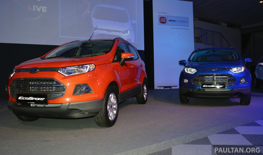 Ford EcoSport launched in Malaysia – RM93k-RM104k Image #266172