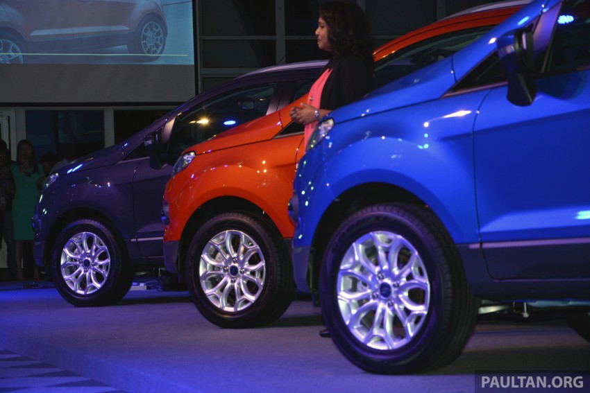 Ford EcoSport launched in Malaysia – RM93k-RM104k Image #266176