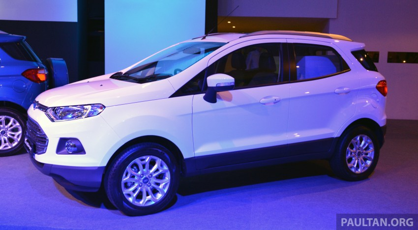Ford EcoSport launched in Malaysia – RM93k-RM104k Image #266183
