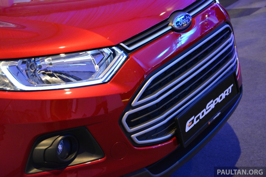 Ford EcoSport launched in Malaysia – RM93k-RM104k Image #266195