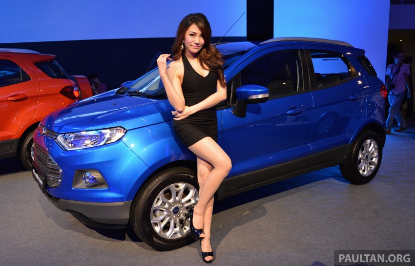 Ford EcoSport launched in Malaysia – RM93k-RM104k Image #266197
