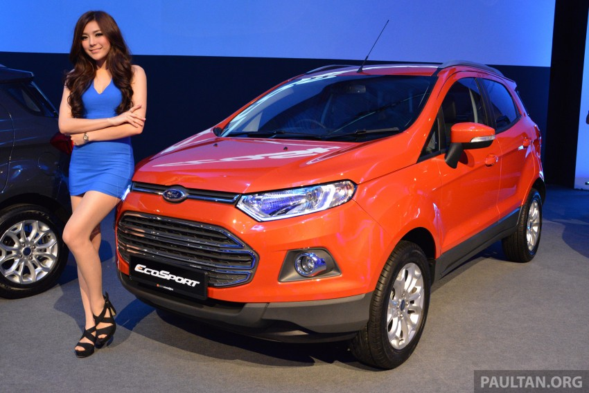 Ford EcoSport launched in Malaysia – RM93k-RM104k Image #266198