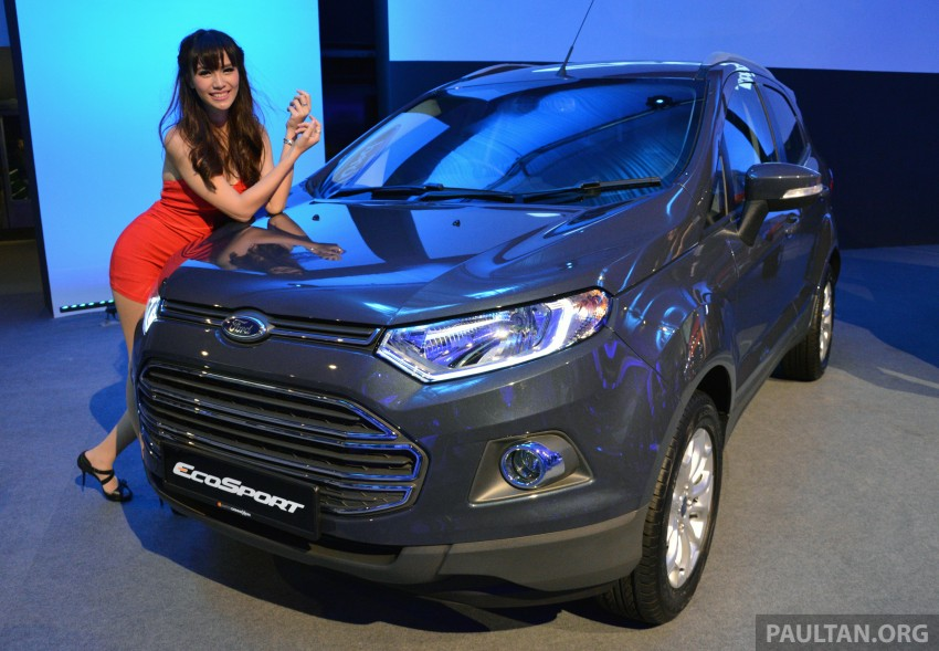 Ford EcoSport launched in Malaysia – RM93k-RM104k Image #266199