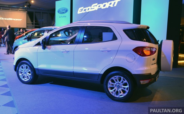 ford ecosport launched in malaysia rm93k rm104k. Black Bedroom Furniture Sets. Home Design Ideas